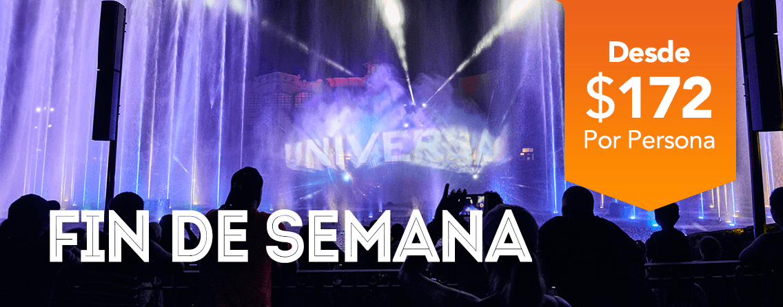 Fin de Semana Universal Studios - OrlandoVacation