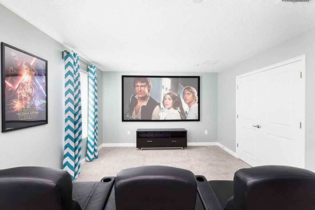 Mics Mansion 8 Bedrooms Vacation Home Theater 1